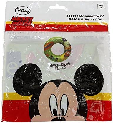 Flotador Mickey Mouse 3-6 años, 51 cm
