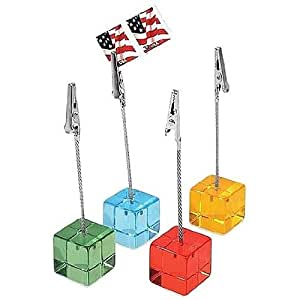 Museum of Modern Art Cube card bright clips foryour special events Our price is for 4 piece