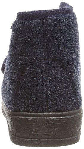Manitu Home 370018 - Zapatillas de casa para mujer Azul (marine)