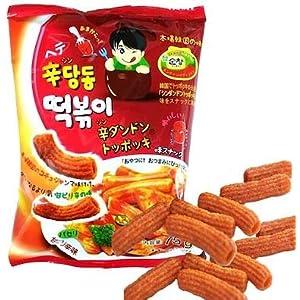 韓グルメ-KANGURUME シンダンドン トッポギお菓子 5個SET