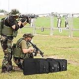 "ProCase Double Rifle Bag, 36"" Tactical Long Rifle"