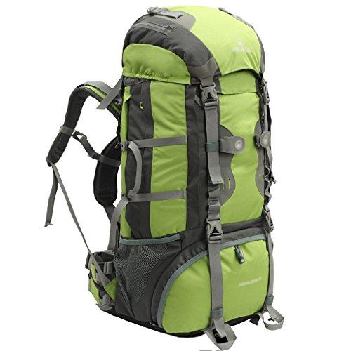 zaino trekking Maschio / Femmina 60L / 70L Escursionismo spalla esterna sacchetto di svago di sport sacchetto di alpinismo Zaini da escursionismo ( Colore : 1 , dimensioni : 70L-25*30*83cm )