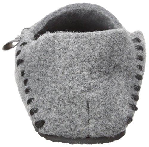 Woolrich Mens Felt Mulino Mocassino Mocassino Grigio Acciaio