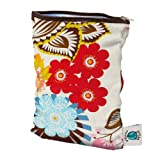 Planet Wise Wet Cloth Diaper Bag (small, april flowers), Health Care Stuffs