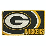 Team Sports Green Bay Packers 18x30 Bleached Welcome Mat