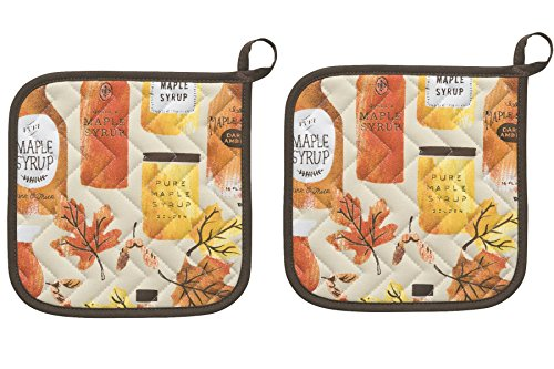 Now Designs Potholders Maple Syrup