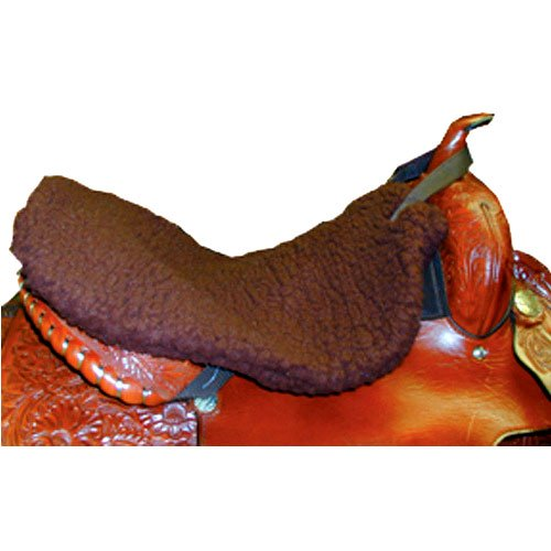 Intrepid International Western Saddle Fleece Seat Saver