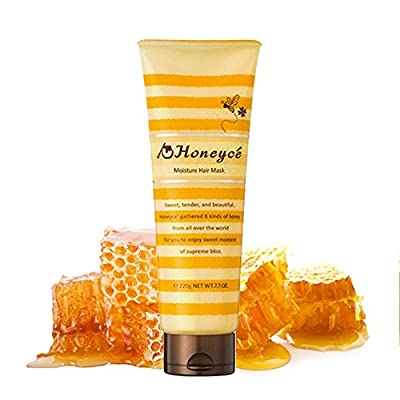 Honeyce Moisture Hair Mask 220gram / 7.7 ounce repairng and nourishing your damaged hair