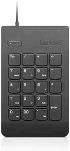 Lenovo Keypad - USB - Black - for IdeaPad 130S-14; S145-14; S145-15; S340-14; S540-13; S540-14; S540-15; S740-15IRH Touch