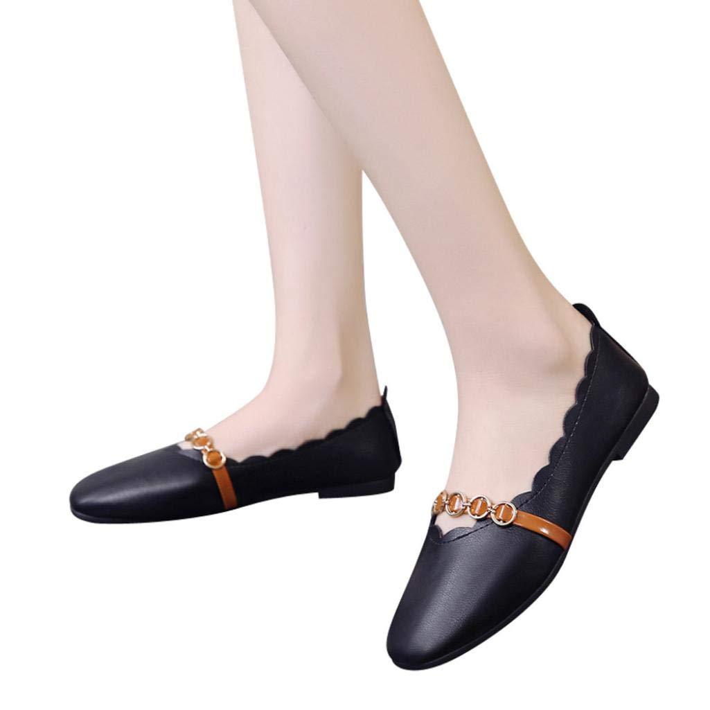 Bailarinas mujer, ❤️Sonnena Zapatos planos de mujer Primavera verano Zapatos deportivos sin cordones Zapatillas de playa Zapatos al aire libre Mocasines: ...