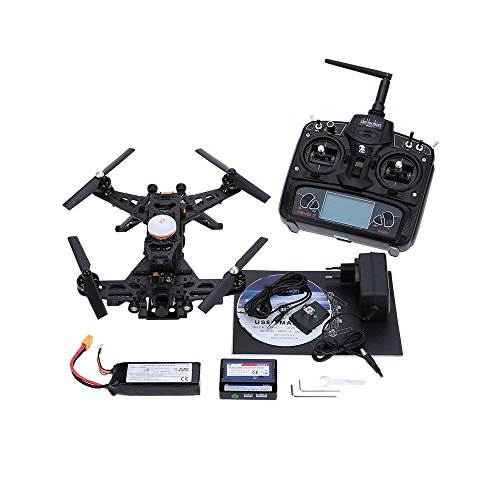 Original Walkera Runner 250 Basic 3 Version RTF RC Quadcopter with OSD/DEVO 7 Transmitter/800TVL HD Camera