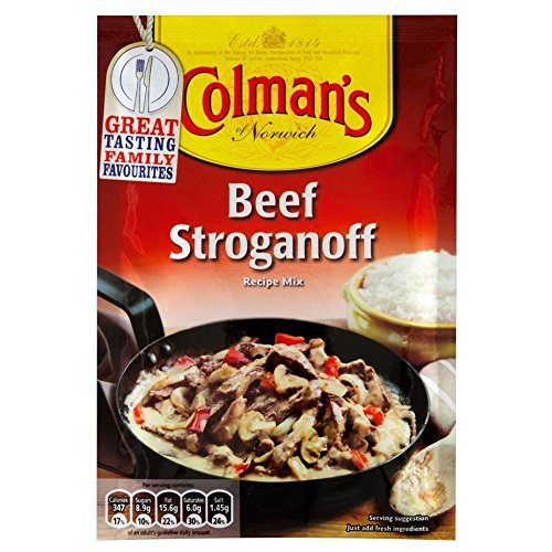 Colman's Beef Stroganoff Sauce Mix (39g) - Pack of 6