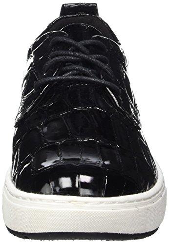 Femme Sneakers Noir Marco Strpat black 23708 Basses Tozzi AHwWxEgqOf