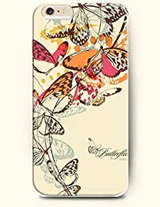 OFFIT iPhone 6 Plus Case 5.5 Inches Butterflies by icecream design