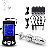 LELEWO USB Charge Electric shock physiotherapy massage device + accessories (B-06)