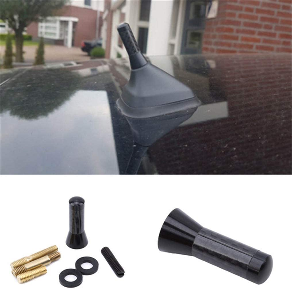 GUAngqi Universal Car-Styling Small Car Mini Antenna AM FM Car Short Aerial Auto Radio Replacement