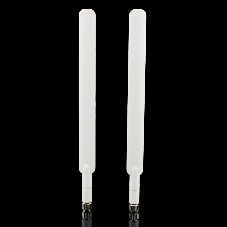 SMA Antenna 9DBI ad Alte Prestazioni 4G LTE Antenna WiFi Segnale Booster Amplificatore Modem Adattatore Ricevitore di Rete Antenna ad Alta Portata per Huawei B593//E5175//E5186//B890 etc 2 Pack
