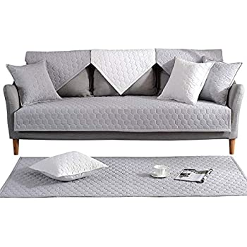 Amazon Com Ostepdecor 100 Cotton Quilted Sectional