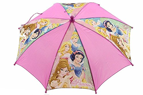 Disney Princess Girl's Pink Sleeping Beauty 3D Handle Umbrella