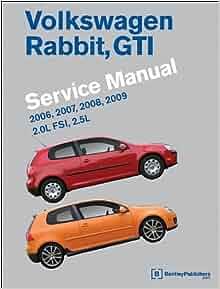 Volkswagen rabbit gti a5 service manual 2006 2007 2008 2009 volkswagen rabbit gti a5 service manual 2006 2007 2008 2009 bentley publishers 9780837616643 amazon books fandeluxe Gallery