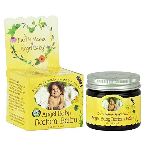 Earth Mama Angel Baby Bottom Balm, 2-Ounce Jars (Pack of 6)