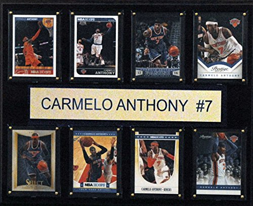 NBA New York Knicks Carmelo Anthony New York Knicks 8-Card Plaque, 12 x 15-Inch