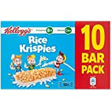 Kellogg's Rice Krispies Cereal & Milk Bars 10 x 20g (Pack of 2)