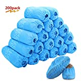 Premium Disposable Boot & Shoe Covers 200 Pack (100 Pairs) | Non-Slip, Durable, Indoor | Protect Your Home, Floors and Shoes