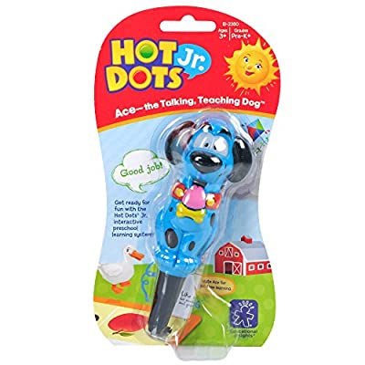 Educational Insights Hot Dots Jr. Ace-the Talking, Teaching Dog Pen: Toys & Games