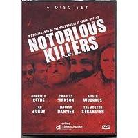 Notorious Killers [6 DVD BOXSET] Ted Bundy Charles Manson Jeffrey Dahmer and more