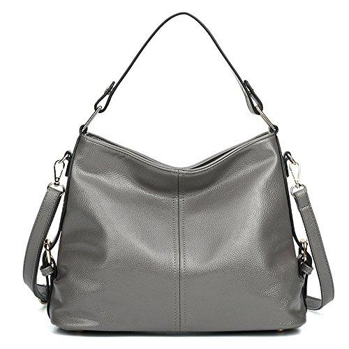 Gwqgz Black Luxury Sesgar il libero a tracolla mano tempo Borsa Multifunzionale borsa singola Grey per a Retro rrTgwZqd