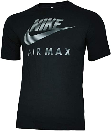 Nike Air MAX Application tee Hombre Camiseta algodón T-Shirt ...