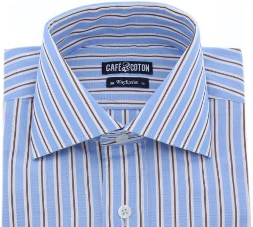 Café Coton - Camisa Casual - Cutaway Collar - para Hombre ...