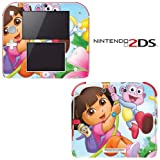 Dora the Explorer and Boots Decorative Video Game Decal Cover Skin Protector for Nintendo 2Ds