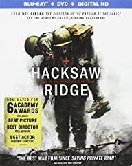 The true story of army medic and conscientious objector Desmond Doss who, during WWII, saved 75 men without firing or carrying a gun.