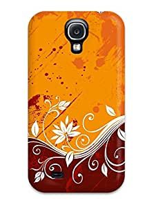 Fashionable Style Case Cover Skin For Galaxy S4- Pattern Color Vectors