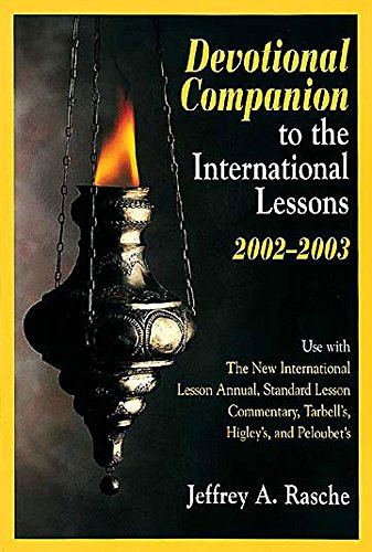 Download Devotional Companion to the New International Lesson Annual for (2002-2003) (My Devotional Companion) PDF