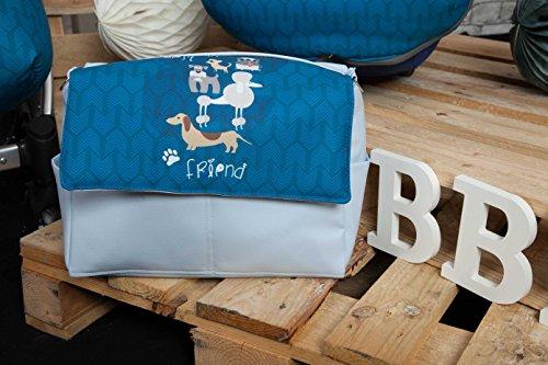 Babyline Dogs - Bolso, color azul Azul