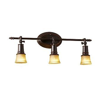 Fer appliques Mall Miroir Lampe En Home européenne Résine Murales hCrtsdxQ