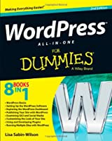 WordPress All-in-One For Dummies, 2nd Edition Front Cover