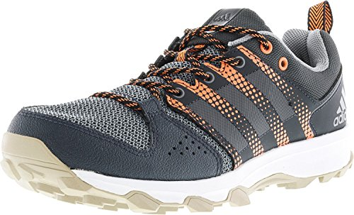 adidas Performance Women's Galaxy W Trail Runner Dark Grey/Tech Grey/Glow Orange 8 M US