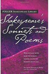 Shakespeare's Sonnets & Poems (Folger Shakespeare Library) Paperback