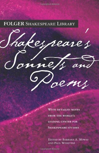 Download Shakespeare's Sonnets & Poems (Folger Shakespeare Library) pdf epub