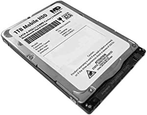 MaxDigitalData 1TB 5400RPM 64MB Cache (7mm) SATA 6.0Gb/s 2.5inch Mobile HDD/Notebook Hard Drive - 2 Year Warranty