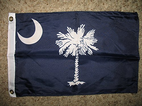 State of South Carolina 12x18 Boat Flag - Stores Garden State