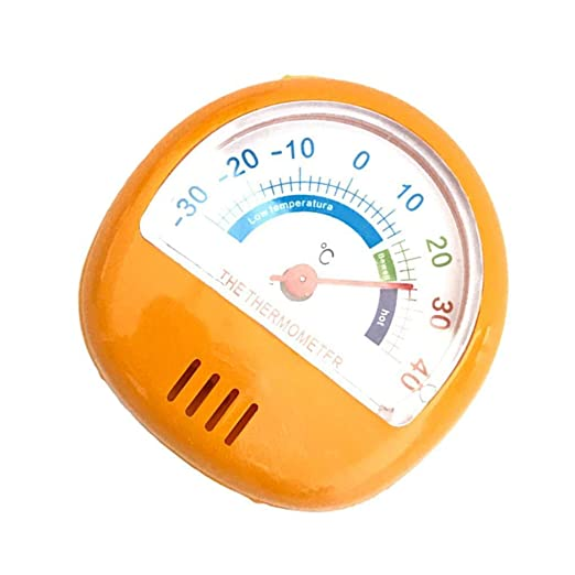 Deinbe Mini indicador del dial Termómetro del refrigerador 3 ...