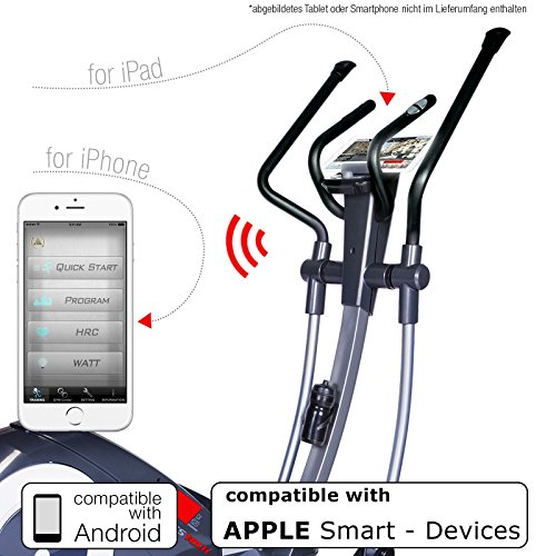 Sportstech CX620 Profi Crosstrainer mit Smartphone App - 3