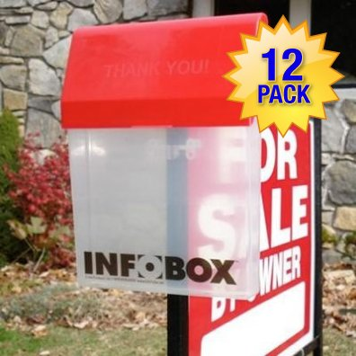 InfoBox 12 Pack by Signs Direct, Inc.