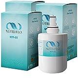 NuTruFlo NTF-02 Samsung DA29-00003G Refrigerator Water Filter Replacement For Samsung da29 00003g DA29-00003A, DA29-00003B, DA61-00159A, HAFCU1, da2900003a Refrigerator (3 pack)