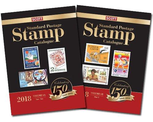 2018 Scott Standard Postage Stamp Catalogue Volume 6 (San-Z) (Scott Standard Postage Stamp Catalogue Vol 6 San-Z)